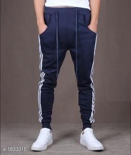 Voguish Polyester Blend Men's Track Pant