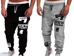 Voguish Polyester Blend Men's Track Pants