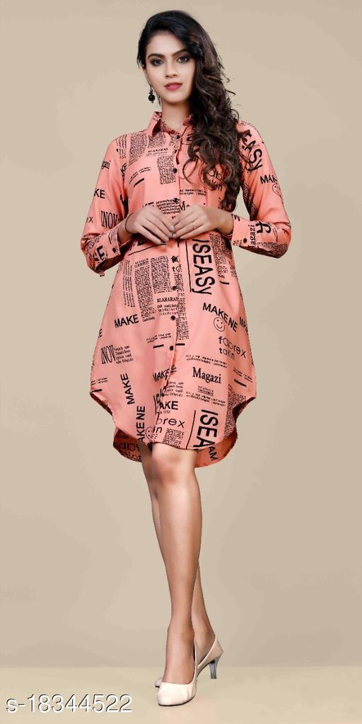 Women's Shirt Paper Print (Gajari)