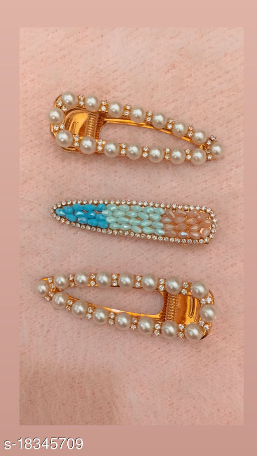 Combo of Fancy Girly Hair Clips