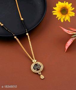 N Name Alphabet Latter mangalsutra for women jewellery