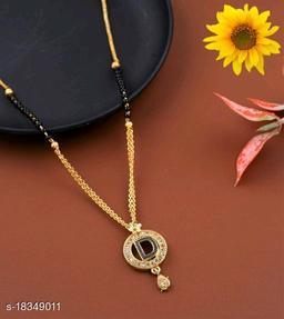 D Name Alphabet Latter mangalsutra for women jewellery