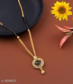 S Name Alphabet Latter mangalsutra for women jewellery