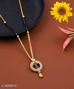 T Name Alphabet Latter mangalsutra for women jewellery