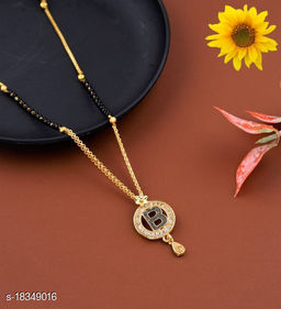 B Name Alphabet Latter mangalsutra for women jewellery