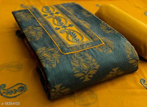 Jenisha Cotton Dress Material