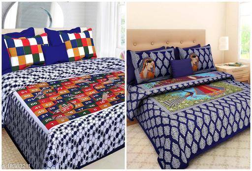 Stylish Designer Kids Unisex Bedsheets