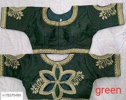 HEAVY EMBRODERY WORK FREE SIZE BLOUSE BY R VARIETY