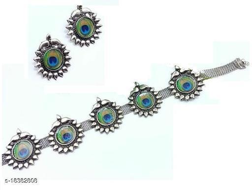 Samridhi Style Mayur Fashionable Jewellery Set
