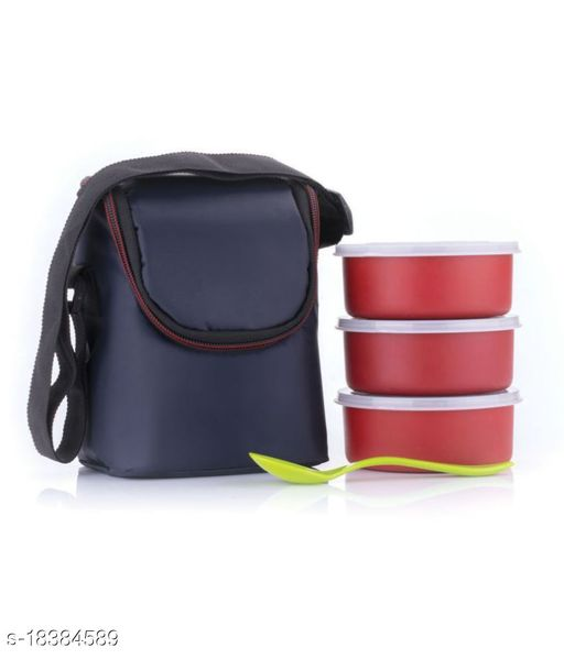Pink Stainless Steel Lunch Box calssic