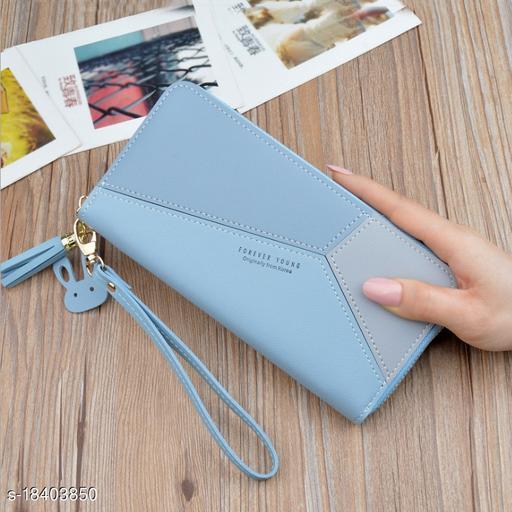 Valerie Women Wallets Girls Wallets Zipper Latest Trendy Cute Clutch Purse hand bag