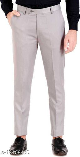 Relaxed Fit Mens Foraml Trousers