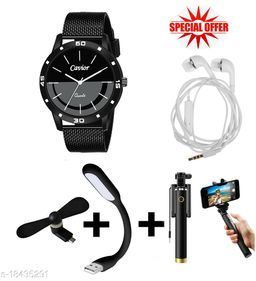 Combo of Watch & Mobile Accessories