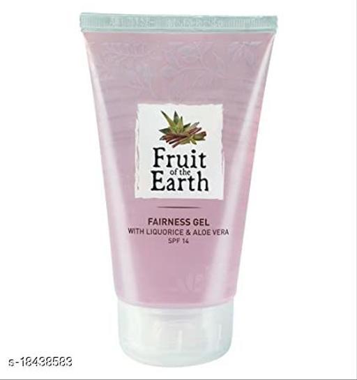 Fruit of the Earth Fairness Gel with Liquorice & Aloe Vera SPF14 100m
