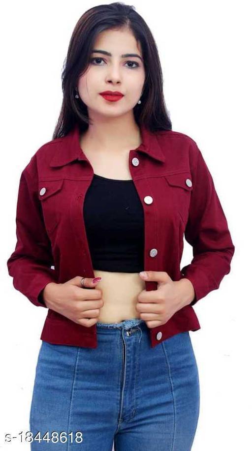 Trendy Attractive Women Ethnic Jackets