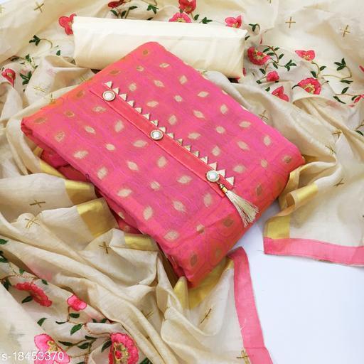 feni fashion Women's Cotton Unstitched Salwar Suit