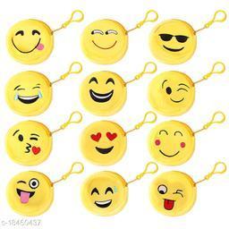 Sakhi Shine Funny Emoji Mini Bags Set Of 12