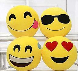 Sakhi Shine Soft Emoji Pillows Set Of 4