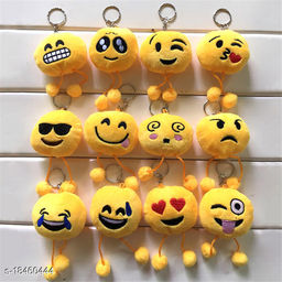 Sakhi Shine Smiley With Legs Key Chain Set Of 12