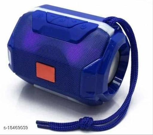 Greenbell Audio deep bass Portable Rechargeable Splash/Dustproof / Waterproof Flashing LED Light Best Wireless / Home Audio Bluetooth Speaker/Speakers ( Blue )