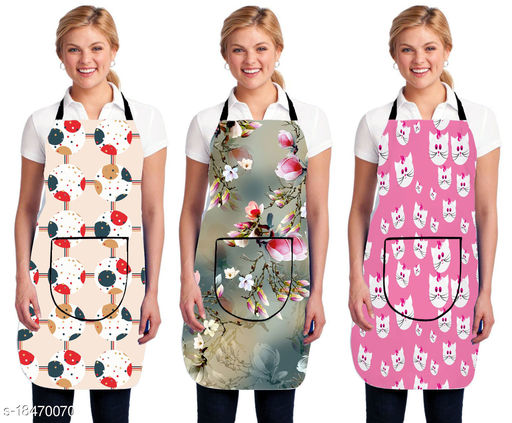 Kingly home Grooming Apron Combo Pack Of 3