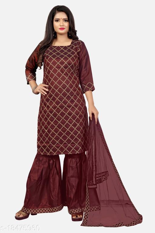 Aagam Attractive Sharara