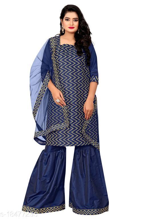 Abhisarika Attractive Sharara