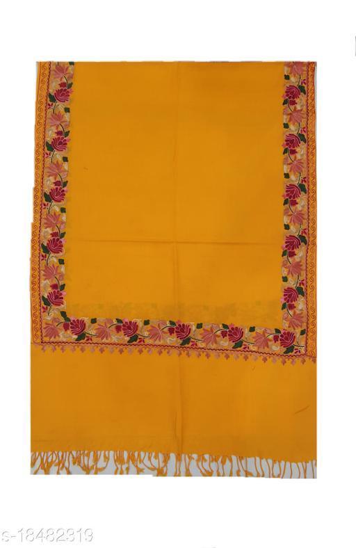 Beautiful Women's Yellow Shawls