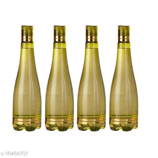 Saura Celebration Fridge Bottle 1000 ml Set of 4 Green
