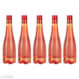 Saura Celebration Fridge Bottle 1000 ml Set of 5 Red