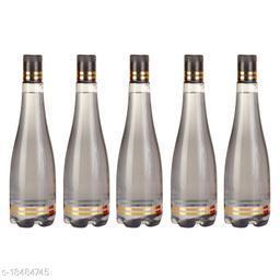 Saura Celebration Fridge Bottle 1000 ml Set of 5 Smoke Black