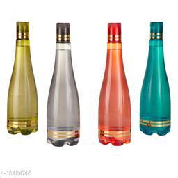 Saura Celebration Fridge Bottle 1000 ml Set of 4 Multi