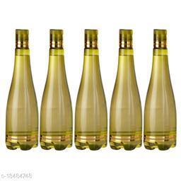 Saura Celebration Fridge Bottle 1000 ml Set of 5 Green