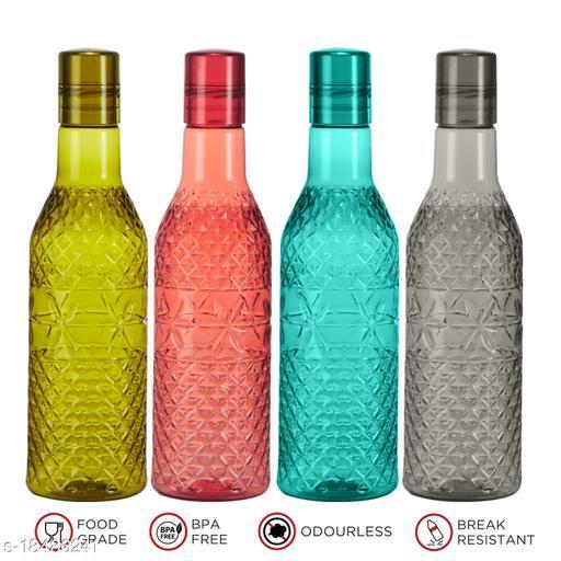 Saura D'ARC Fridge Bottle 1000 ml Set of 4 Multi