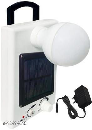 Stark Creations 12 LED Solar Bulb With Charge Rechargeable Lantern Emergency Light(White)