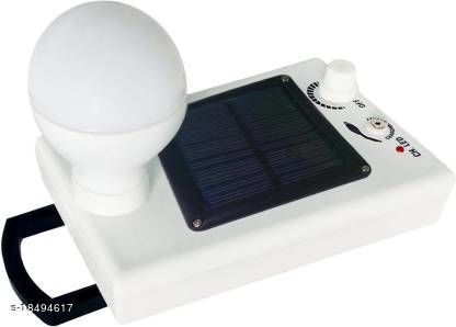 Stark Creations 12 LED Solar Bulb With Charge Rechargeable Lantern Emergency Light- White