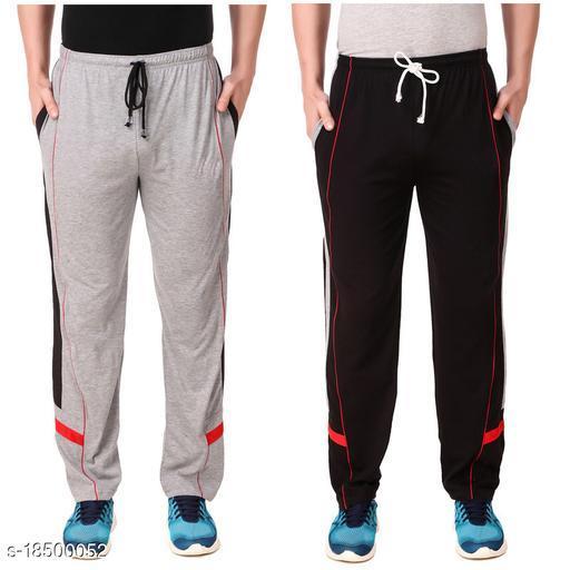 Fancy Men's Cotton Blend Track Pants Combo