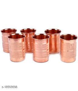 Designer Copper Bottles, Jugs & Glasses