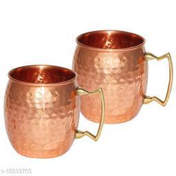 Fancy Copper Bottles, Jugs & Glasses