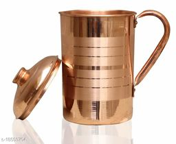 Attractive Copper Bottles, Jugs & Glasses