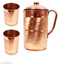 Stylo Copper Bottles, Jugs & Glasses