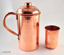 Essential Copper Bottles, Jugs & Glasses