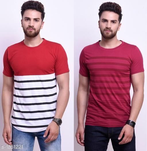Standard Men's Cotton T-Shirt ( Pack Of 2 )