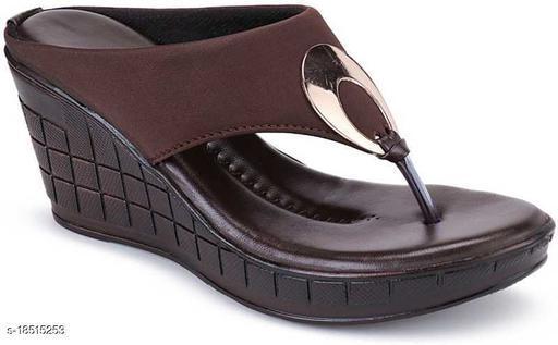 Fashion Women's Wedges Sandal Casual Wear Heel Sandal Dark Brown…
