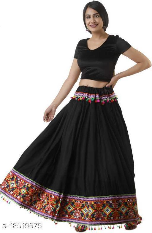 Pretty Rayon Women Ethnic Skirts