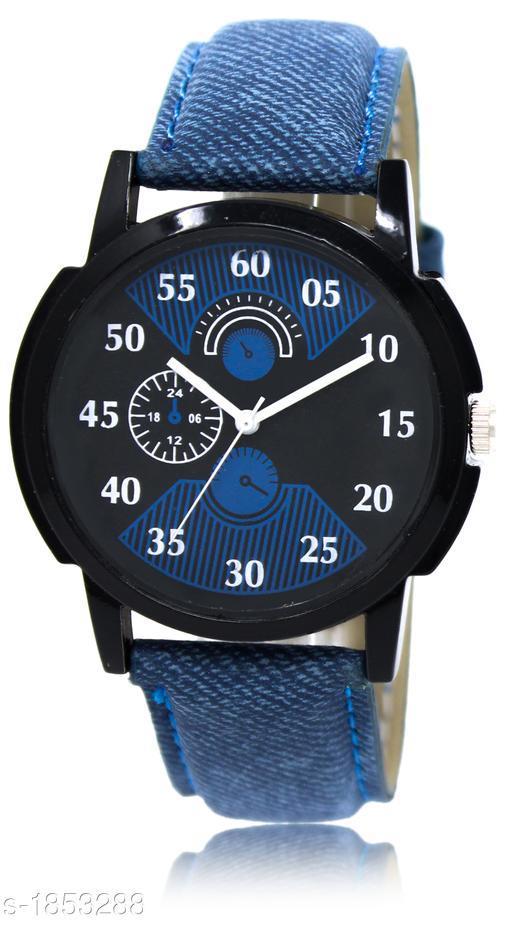 Fancy  Leather Men's Analog Watch