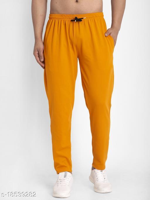 Jainish Men's Solid Track Pants