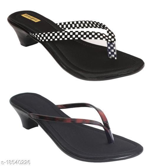 Trendy Women's Multicolor Heels