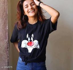 Stylish Cotton Women's T-Shirt