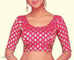 Banarasi Brocade Half Sleeve Designer Women's Blouse